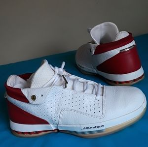 Nike Air Jordan 16 Retro Varsity Red White Sz 9.5
